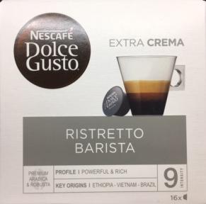 Кофе натуральный, молотый ESPRESSO BARISTA, 16 капсул, 12141754, DOLCE GUSTO