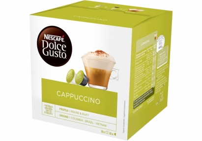 Кофейный напиток CAPPUCCINO, 16 капсул, 5219849, NESCAFE DOLCE GUSTO