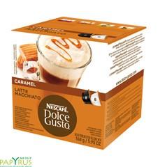 Кофейный напиток LATTE MACCHIATO Карамель, 16 капсул, 12136960,NESCAFE DOLCE GUSTO