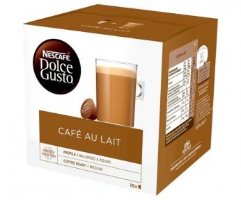 Напиток кофейный, CAFЕ AU LAIT, 16 капсул, 12148061, NESCAFE DOLCE GUSTO